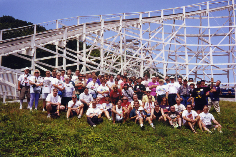 Summer Conference, held July 23–26, 1998, at Lake Compounce, Quassy and Funtown USA.<br /> Photo taken at Lake Compounce, by Bruce Torrey.