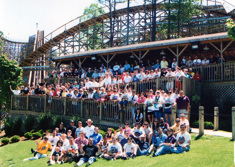 1999 ACE Spring Conference held at Six Flags Over Georgia and Visionaland. Photo, taken by S. Madonna Horcher, at Visionland.