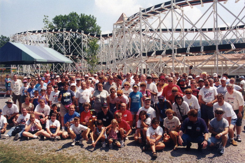 The Ultimate Preservation Conference, held July 23–25, 1999, at Lakemont Park, Bland's Park and Knoebels Amusement Resort.<br /> Photo taken at Lakemont Park by Howard Gillooly.