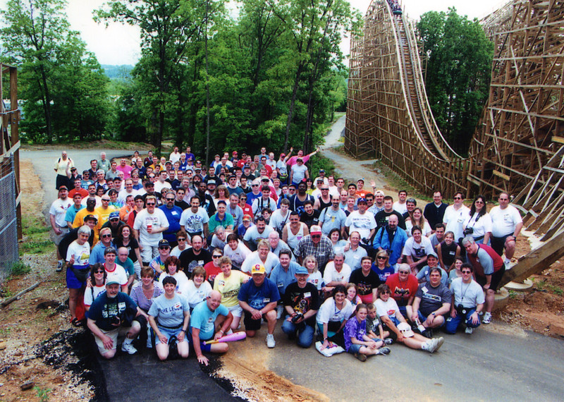 2001 ACE Spring Conference held at Silver Dollar City, Branson USA and Six Flags St. Louis. Photo, taken by S. Madonna Horcher, at Six Flags St. Louis.