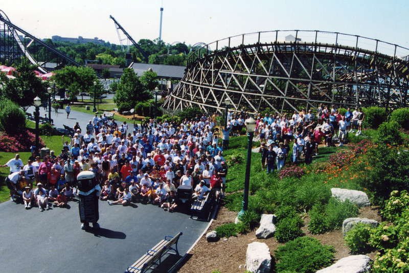 Coaster Con XXIV, held June 17–22, 2001, at Hersheypark, Williams Grove and Dorney Park.<br /> Photo taken at Hersheypark, by S. Madonna Horcher.