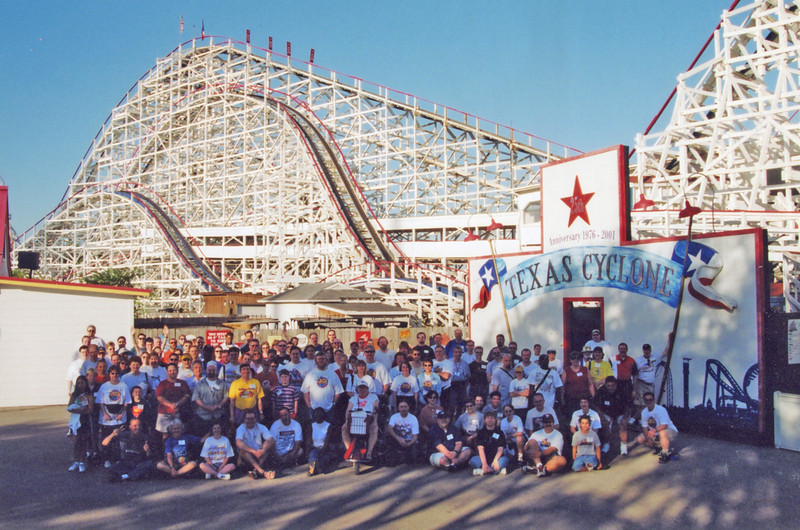 Spring Conference, held April 25–27, 2003, at AstroWorld.<br /> Photo by S. Madonna Horcher.