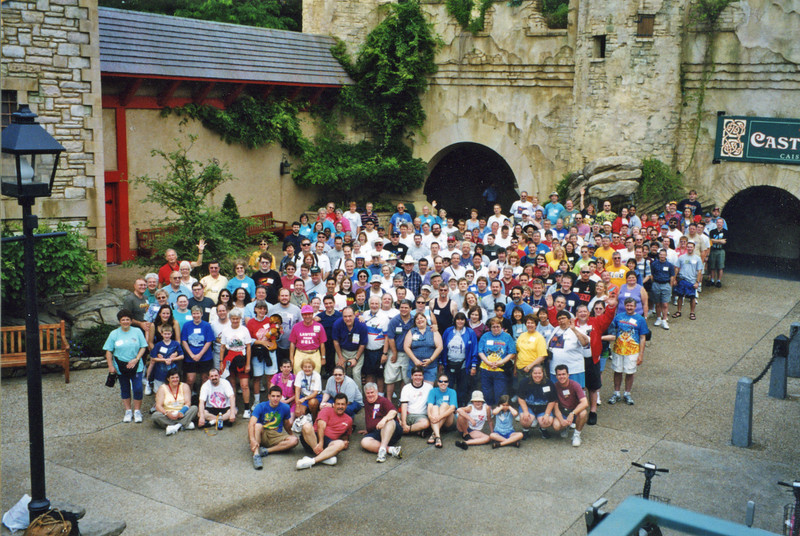 Coaster Con XXVI, held June 15–20, 2003, at Busch Gardens Williamsburg and Kings Dominion.<br /> Photo taken at Busch Gardens Williamsburg by S. Madonna Horcher.