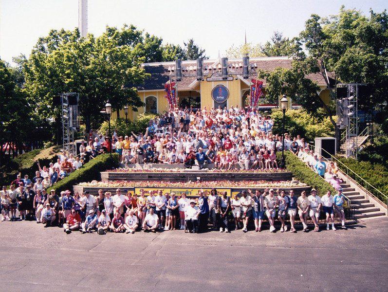 Coaster Con XXVII, held June 19–24, 2005 at Six Flags Great America, Little A-Merrick-A, and Mt. Olympus Theme Park.<br /> Photo taken at Six Flags Great America, by S. Madonna Horcher.