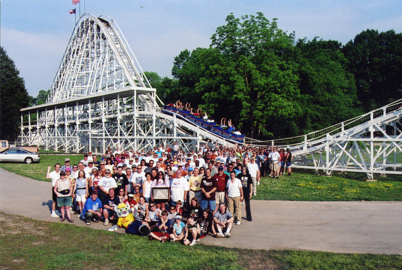 Spring Conference, held May 13–15, 2005 at Lake Winnepesaukah and Dollywood.<br /> Photo take at Lake Winnepesaukah by S. Madonna Horcher.