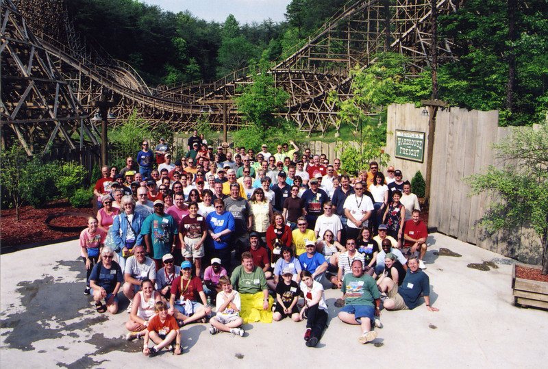 Spring Conference, held May 13–15, 2005 at Lake Winnepesaukah and Dollywood.<br /> Photo take at Dollywood by S. Madonna Horcher.