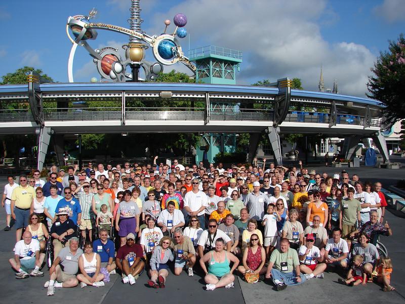 Coaster Con XXIX, held June 18-23, 2006 at Walt Disney World, Old Town, Busch Gardens Tampa Bay and Cypress Gardens Adventure Park.<br /> Photo by Tim Baldwin