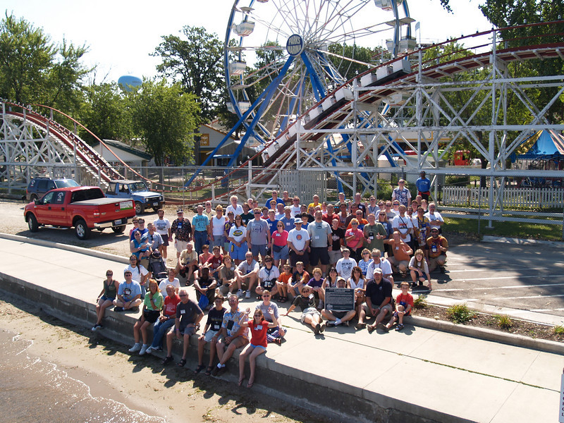 ACE Preservation Conference, held August 4-6, 2006 at Valleyfair!, The Park at the Mall of America and Arnold's Park.<br /> Photo taken at Arnold's Park by S. Madonna Horcher
