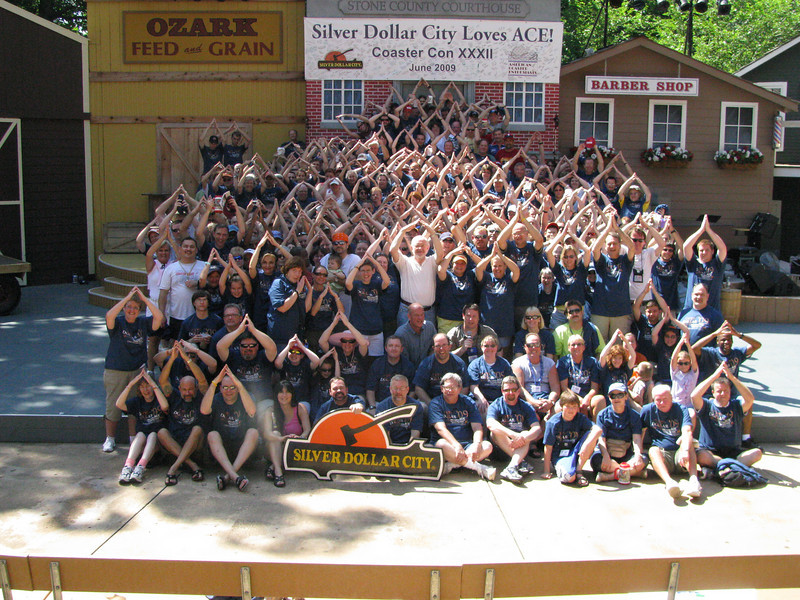 Coaster Con XXXII, held June 21-26, 2009 at Silver Dollar City and Worlds of Fun.<br /> Photo by S. Madonna Horcher
