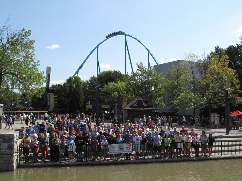 ACE Summer Conference, held August 23 to August 25, at Canada's Wonderland and Marineland.<br /> Photo taken at Canada's Wonderland, courtesy of Canada's Wonderland.