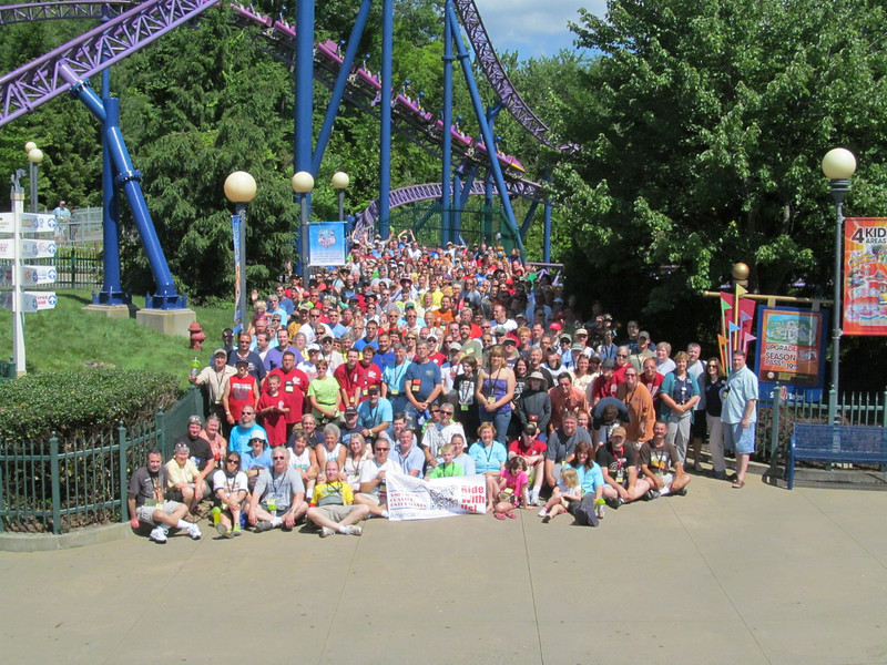 Coaster Con XXXVI, held June 15 to June 21, 2013 at Six Flags New England, Canobie Lake Park, Palace Playland and Funtown / Splashtown USA.<br /> Photo by S. Madonna Horcher, taken at Six Flags New England.