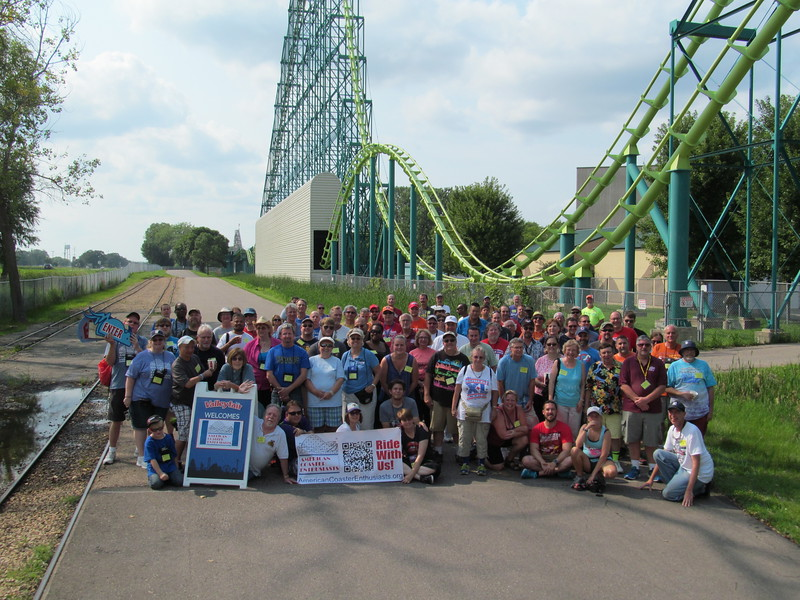 2017 ACE Summer Conference, held August 19 & 20, 2017. Photo, taken at Valleyfair, by S. Madonna Horcher.