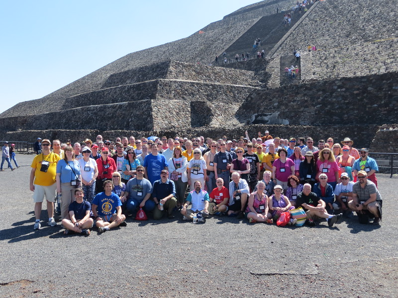 ACE South of the Border, held April 19 to 22, 2017. Photo, taken at Teotihuacan, by Alex Rigsby