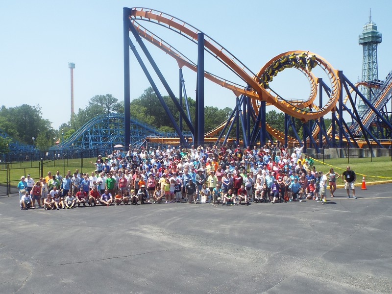 Coaster Con 41 held June 17 -  22<br /> Photo taken June 19 at Kings Dominion by S. Madonna Horcher