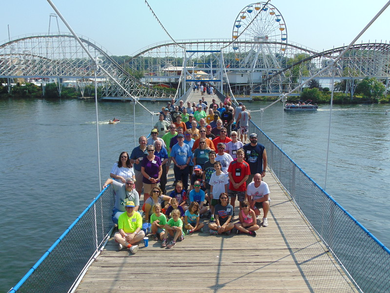 ACE Preservation Conference held August 3, 4 & 5, 2018,  at Indiana Beach and Michigan's Adventure. Photo, by S. Madonna Horcher, taken Aug. 4 at Indiana Beach.