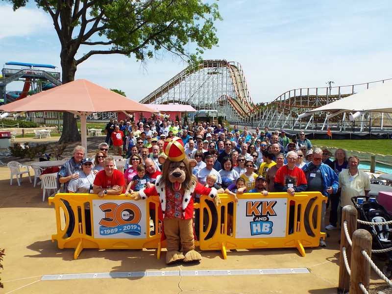ACE 2019 Preservation Conference held May 10–12, 2019. Photo, by S. Madonna Horcher, taken May 11 at Kentucky Kingdom.