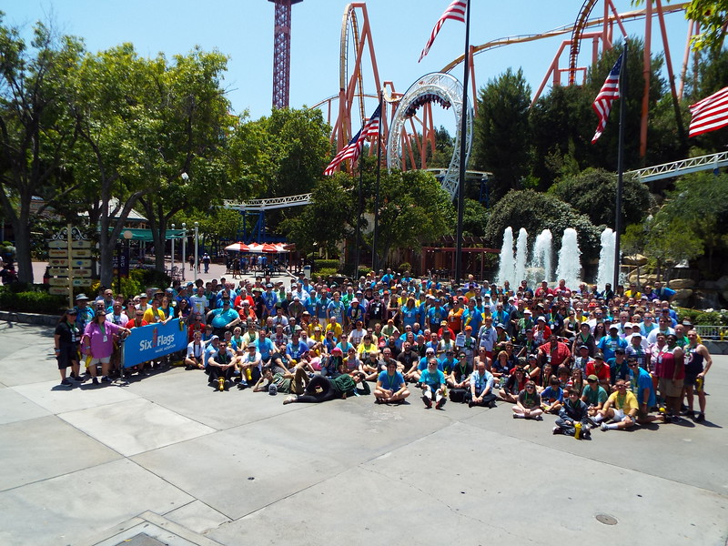 Coaster Con 42, held June 16 - 20, 2019. Photo taken at Six Flags Magic Mountainon June 17.