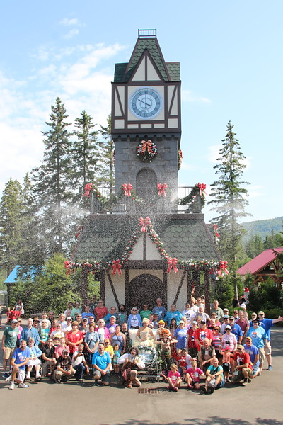 ACE 2019 Summer Conference held July 26 - 28, 2019. Photo taken (with snow) at Santa's Village on July 28.