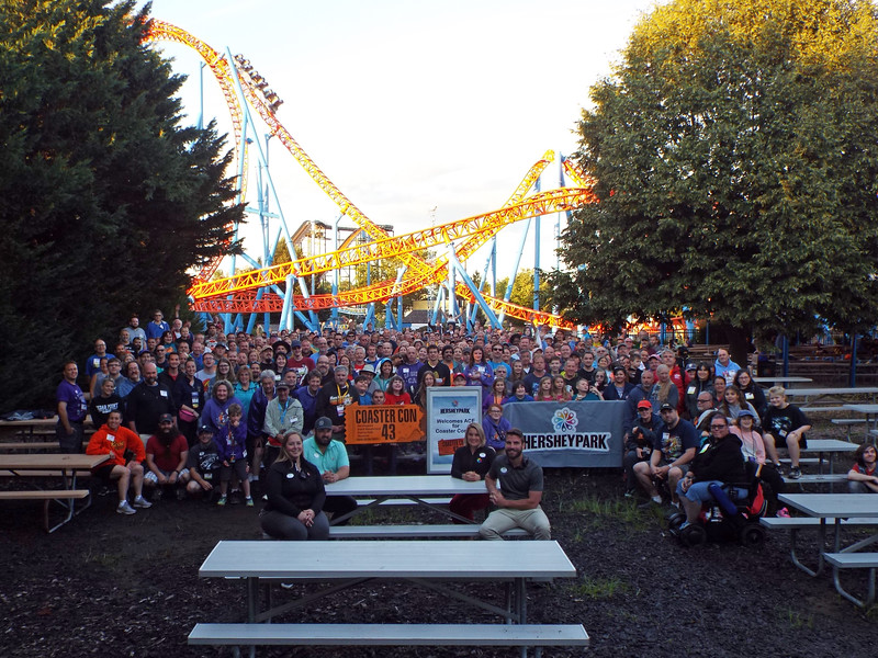 Coaster Con 43, held June 20 – 26, 2021. Photo by S. Madonna Horcher taken at Hersheypark.