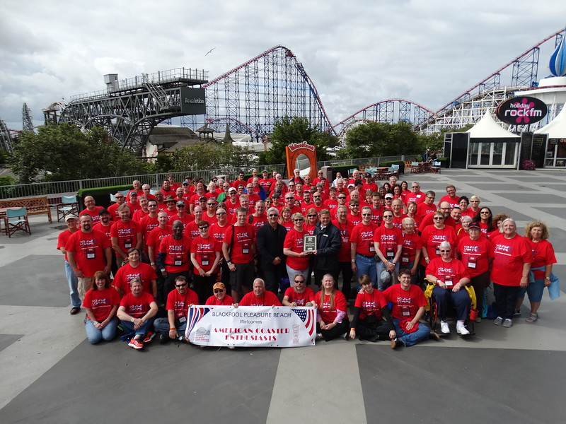 ACE UK! held July 19 to 25, 2015 in the United Kingdom. Photo taken at Blackpool Pleasure Beach.
