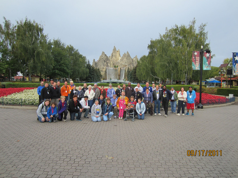 Rollercoasters, Eh? Held September 17, 2011, at Canada's Wonderland.<br /> Photo by Ruth Archibald