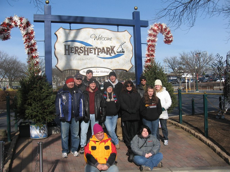 Merry ACEmas in Hershey at Christmas Candylane, held December 18, 2010, at Hersheypark.<br /> Photo by B. Derek Shaw