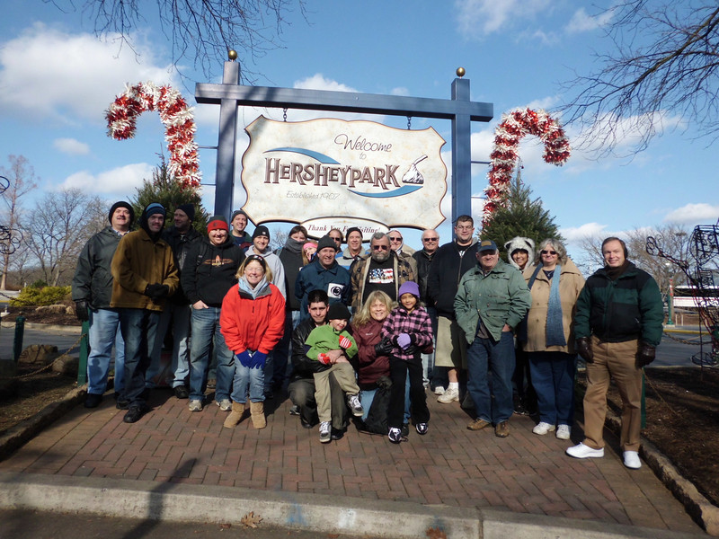 Merry ACEmas in Hershey at Christmas Candylane held December 10, 2011 at Hersheypark.<br /> Photo by Amanda Pugh