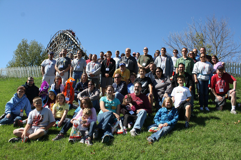 Daredevil Daze, held September 22, 2012, at Six Flags St. Louis.<br /> Photo by Paul Drabek