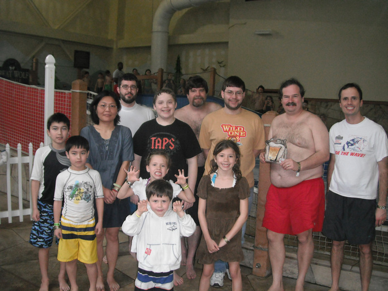 ACE Gets Wet, held January 22, 2012 at Great Wolf Lodge Williamsburg.<br /> Photo by Elizabeth Ringas