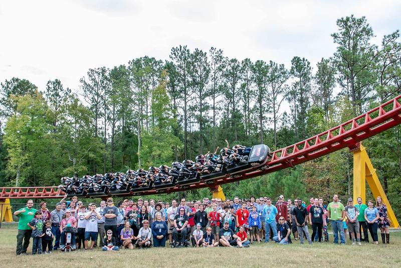 Fall Thrillfest, Sunday, November 3, 2019, taken at Kings Dominion. Photo by Jill Ryan.