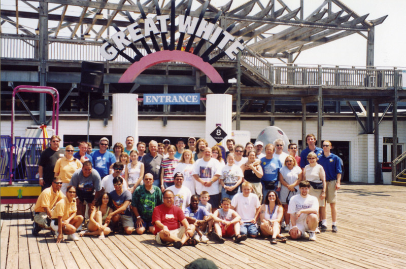 ACE DAY at Wildwood, held June 26, 2003.<br /> Photo taken at Morey's Piers, Wild Wheels Pier, by Mark Davidson.