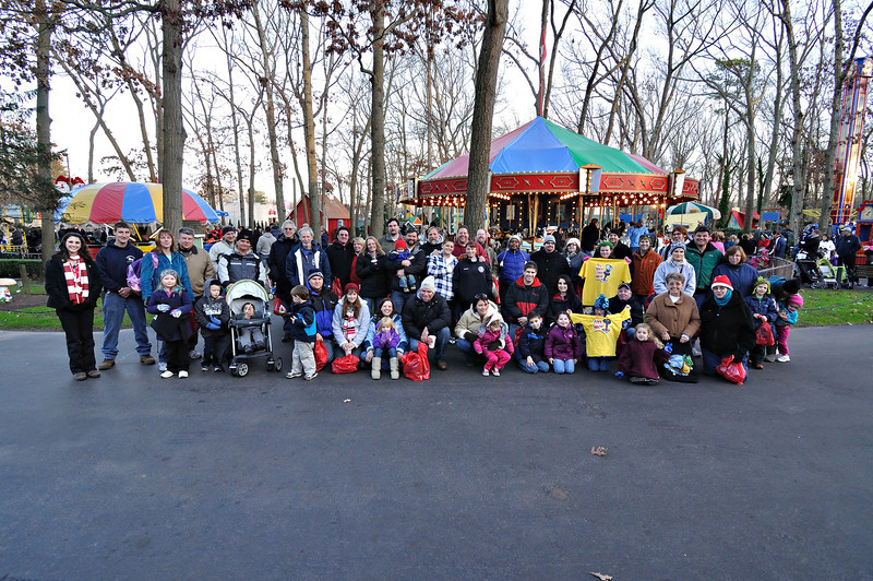 Ridin' in a Winter Wonderland held December 3, 2011, at Storybook Land.<br /> Photo by Bret Ulozas