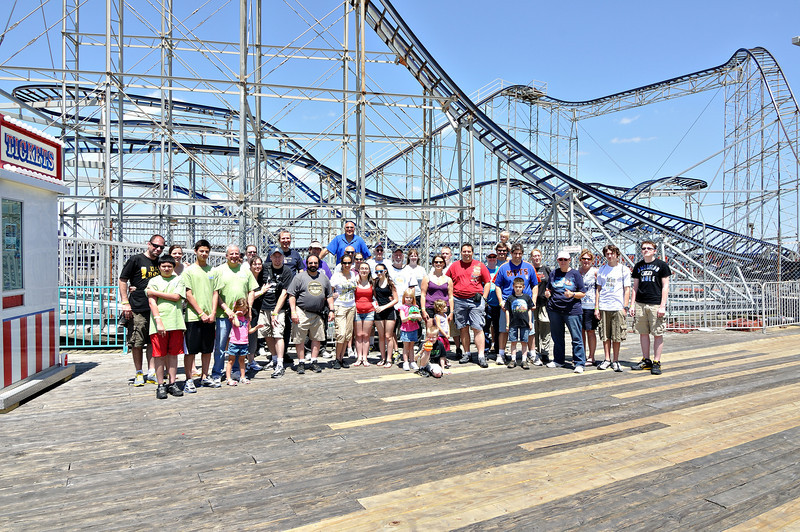Seaside Screams 6, held June 2, 2012, at Casino Pier.<br /> Photo by Bret Ulozas