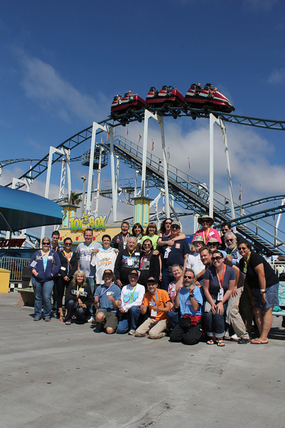 Farewell to Hurricane, held August 26, 2012, at Santa Cruz Beach Boardwalk.<br /> Photo by Donovan Staab