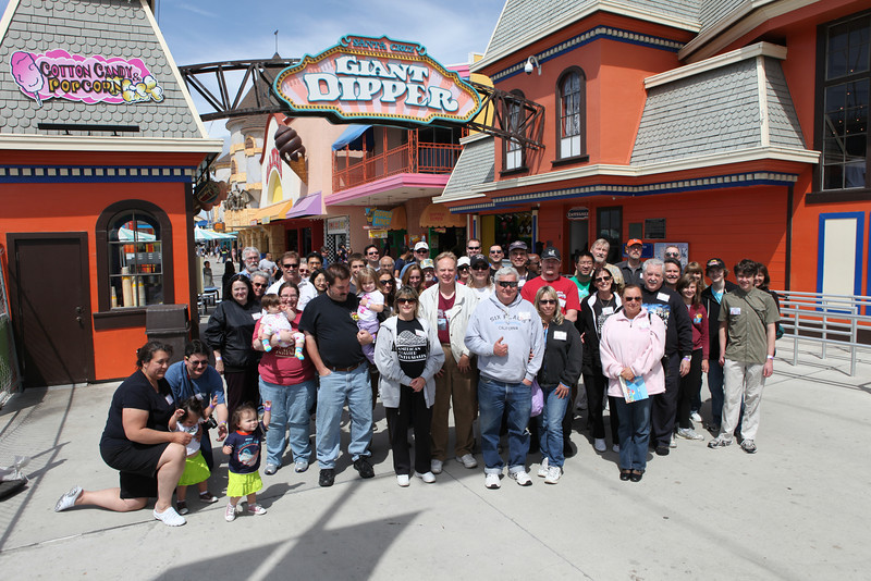 ACE Day at Santa Cruz Beach Boardwalk, held May 7, 2011.<br /> Photo by Steven Wilson