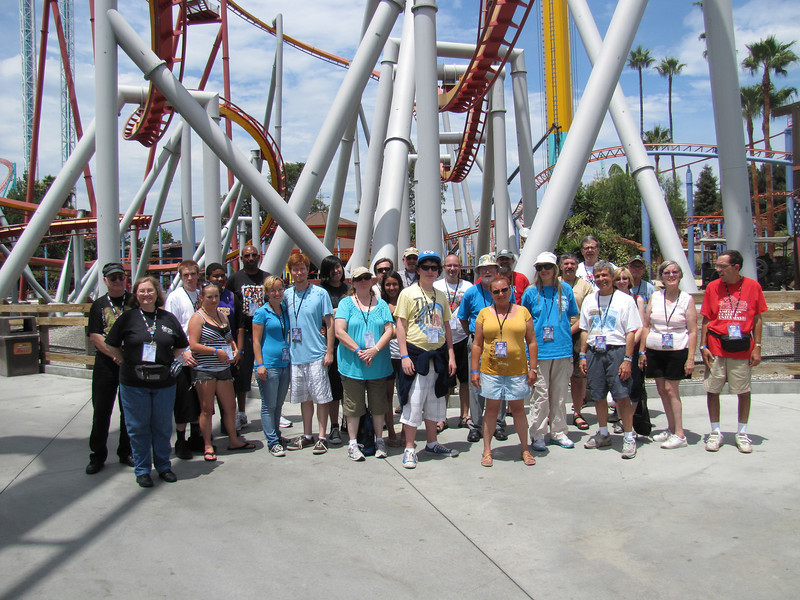 ACE Day at Knott's Berry Farm, held July 31, 2011.<br /> Photo by David Michael