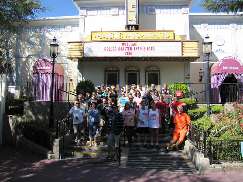 ACE Fright Fest Day, held October 9, 2010 at Six Flags Magic Mountain.<br /> Photo by David Michael