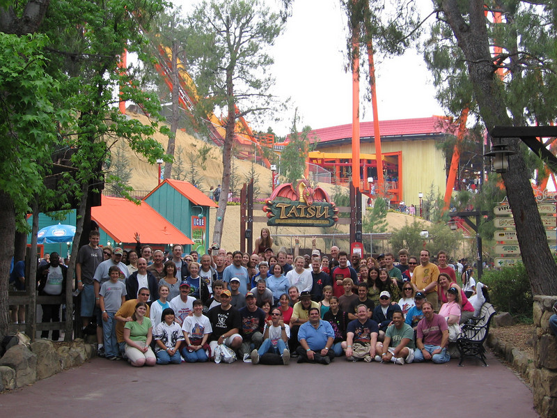 ACE Day at Six Flags Magic Mountain, held May 21, 2006.<br /> Photo by Ric Turner