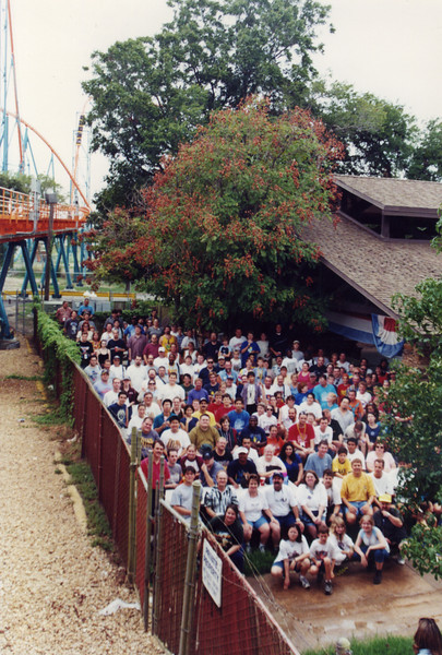 2001 Lone Star Coasterthon, held September 8–9, at Six Flags Over Texas.<br /> Photo by Tim Baldwin.