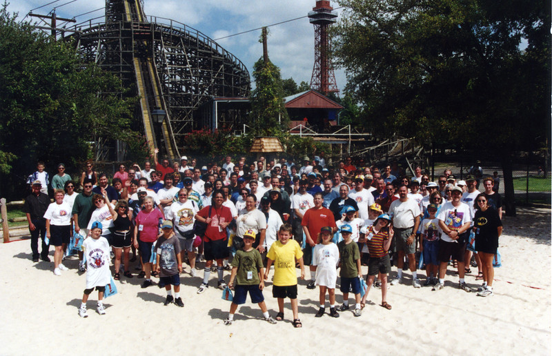 2000 Lone Star Coasterthon, held September 16–17, 2000, at Six Flags Over Texas.<br /> Photo by S. Madonna Horcher.