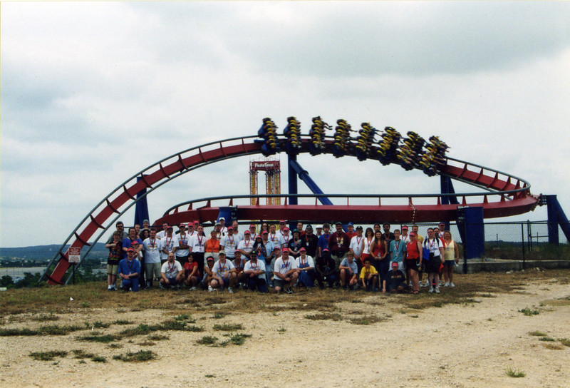 2003 Fiesta Fest, held May 24–25, 2003, at Six Flags Fiesta Texas.<br /> Photo by S. Madonna Horcher.