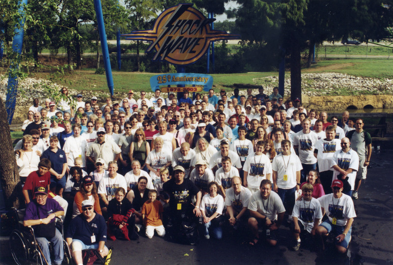 2003 Lone Star Coasterthon, held September 13–14, 2003, at Six Flags Over Texas.<br /> Photo by S. Madonna Horcher.