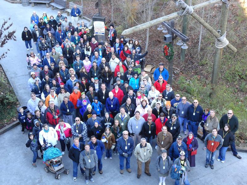 Smoky Mountain Coasterfest, held November 17, 2012 at Dollywood.<br /> Photo by Matthew Lambert