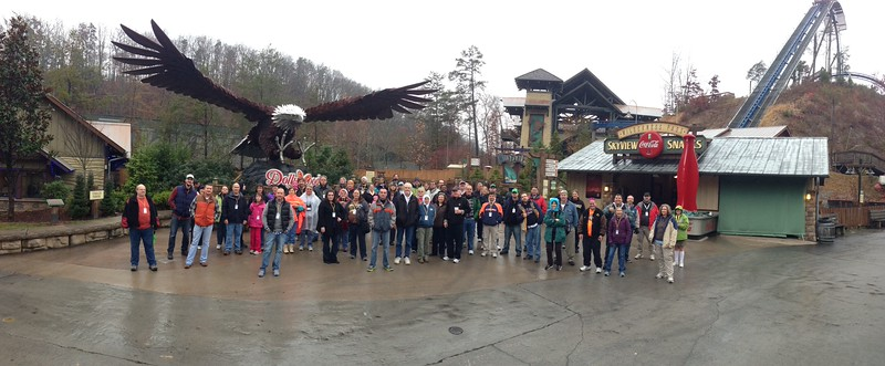Smoky Mountain Coasterfest, held November 23, 2013, at Dollywood.<br /> Photo by Josh Herrington
