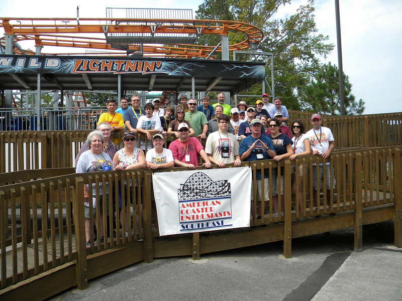 ACE Day at Lake Winnepesaukah, held August 30, 2009.<br /> Photo by Robert Ulrich