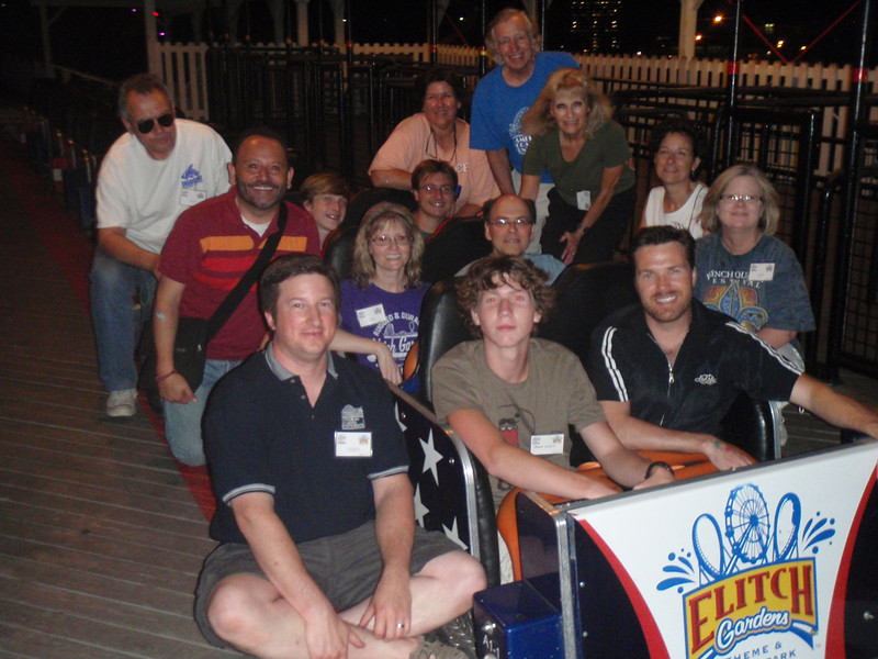 Mile High Coaster Bash, held August 5 and 6, 2011 at Lakeside Amusement Park and Elitch Gardens.<br /> Photo: Kevin Manwarren collection
