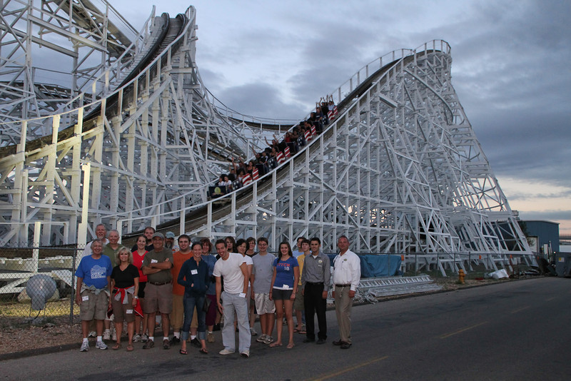 ACE Night at Elitch Gardens, held August 14, 2010.<br /> Photo by Kevin Knapp.