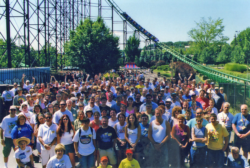 KennyKon XII, held July 15, 2001, at Kennywood<br /> Photo by Bill Linkenheimer