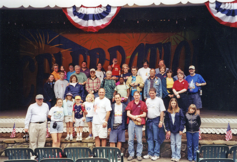 Celebrating 125 years at Idlewild Park, held May 23, 2002.<br /> Photo by Bill Linkenheimer III.