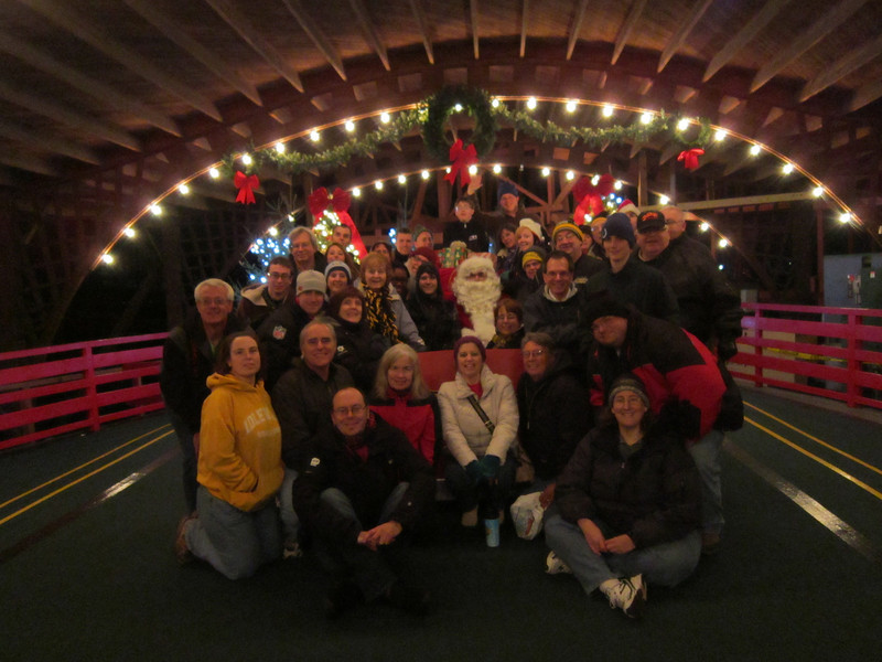 ACE Holiday Magic held December 2, 2011, at Kennywood.<br /> Photo by Mike Matscherz